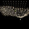 contemporary chandelier / crystal / blown glass / LED