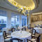 contemporary chandelier / glass / LED