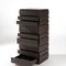 contemporary chest of drawers / wooden / brown