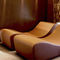 contemporary chaise longue / synthetic leather / for wellness center