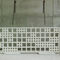 concrete cladding / perforated / panel