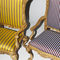upholstery fabric / for curtains / striped / Trevira CS®