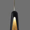 pendant lamp / contemporary / aluminum / gold