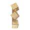 contemporary wall light / brass / gold-plated brass / incandescent