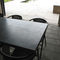 contemporary coffee table / oak / zinc / rectangular