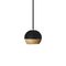 pendant lamp / contemporary / steel / oak