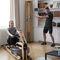 lat pulldown weight training machine