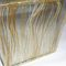 laminated glass panel / patterned / for interior / with textile insert