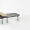 contemporary coffee table / oak / American walnut / stained wood