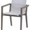 contemporary armchair / Batyline® / teak / with armrests