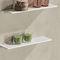 wall-mounted shelf / contemporary / commercial / bathroom