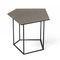 contemporary coffee table / porcelain / steel / modular