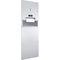 paper towel dispenser combination unit