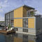 floating house / contemporary / energy-efficient / with terrace