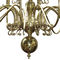 traditional chandelier / brass / commercial