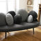 contemporary sofa / velvet / wooden / by Constance Guisset
