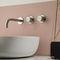 double-handle washbasin mixer tap