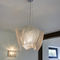 pendant lamp / contemporary / polished stainless steel / handmade