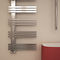 electric towel radiator / hot water / stainless steel / contemporary