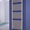 electric towel radiator / hot water / steel / contemporary