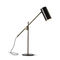 table lamp / contemporary / painted metal / adjustable