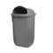 public trash can / wall-mounted / plastic / contemporary