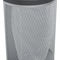 public trash can / galvanized steel / with built-in ashtray