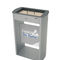 pedestal ashtray / galvanized steel / for outdoor use / for public spaces