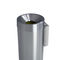 public trash can / stainless steel / contemporary / for public spaces