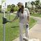public space dog waste bag dispenser