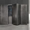 contemporary kitchen / metal / composite / hidden