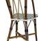 traditional restaurant chair / bistro / rattan
