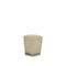 traditional pouf / fabric / brass / black