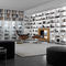 floor-to-ceiling bookcase