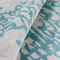 contemporary rug / patterned / New Zealand wool / silk