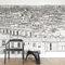 contemporary wallpaper / panoramic / urban motif / scenicPapier peint Vue de Paris Opéra Grand Palais PanoramiqueOhmywall