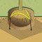 underground rootball fixing system