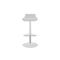 contemporary bar stool / polyurethane / with footrest / adjustable