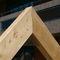 wooden roof truss / glulam / prefab