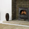 gas heating stove / traditional / metal