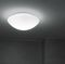 contemporary ceiling light / round / blown glass / polycarbonate