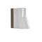 contemporary wall light / outdoor / teak / porcelain
