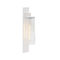 contemporary wall light / garden / aluminum / glass
