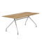 contemporary boardroom table / wooden / laminated MDF / HPL