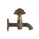 drinking fountain mixer tap / countertop / brass / outdoor