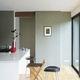 contemporary wallpaper / geometric pattern / metallic look / color