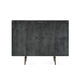 high sideboard / contemporary / wooden / lacquered metal
