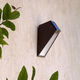 contemporary wall light / outdoor / steel / polycarbonate