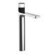 washbasin mixer tap / countertop / chromed metal / bathroom