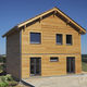 modular house / contemporary / wooden / energy-efficient